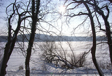 Dieksee im Winter
